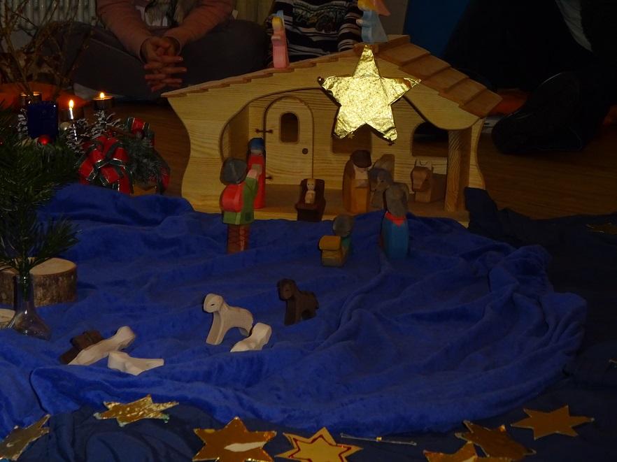 Weihnachtsgeschichte Weihnachtsfeier.Kindergarten St Christophorus Weihnachtsfeier